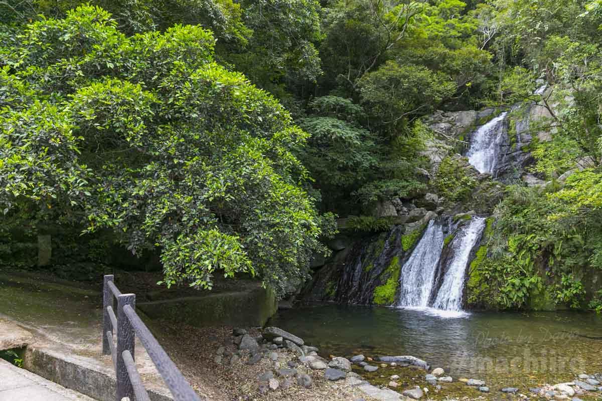 アランガチの滝 写真