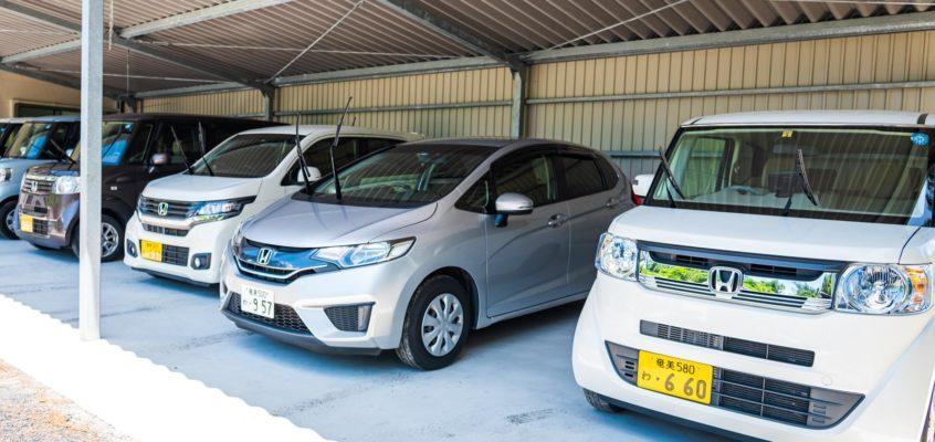 奄美大島レンタカー ホンダの軽自動車
