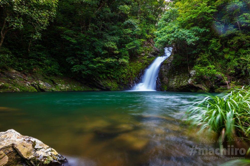 マテリヤの滝 大和村 奄美大島 写真